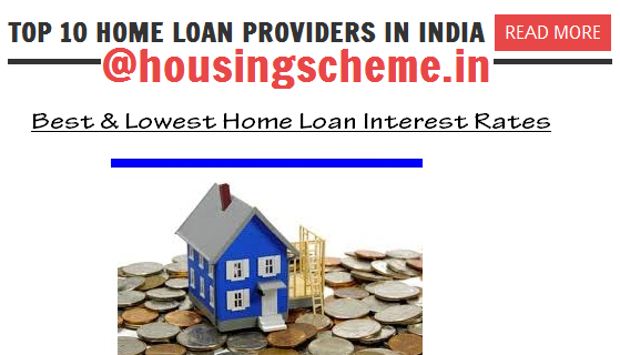 Top 10 Home Loan Providers in India